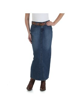 Wrangler Women's As Real As Wrangler Classic Fit Skirt WCK95MB