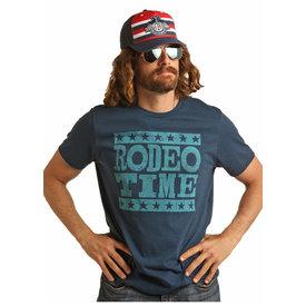 Rock & Roll Denim Men's Rock & Roll Cowboy T-Shirt P9-9018 C5