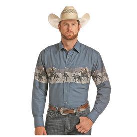 Panhandle Men's Panhandle Snap Front Shirt 30S9033