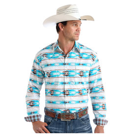 Panhandle Men's Rough Stock Snap Front Shirt R0S9418