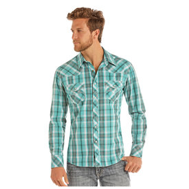 Rock & Roll Cowboy Men's Rock & Roll Cowboy Snap Front Shirt B2S9115