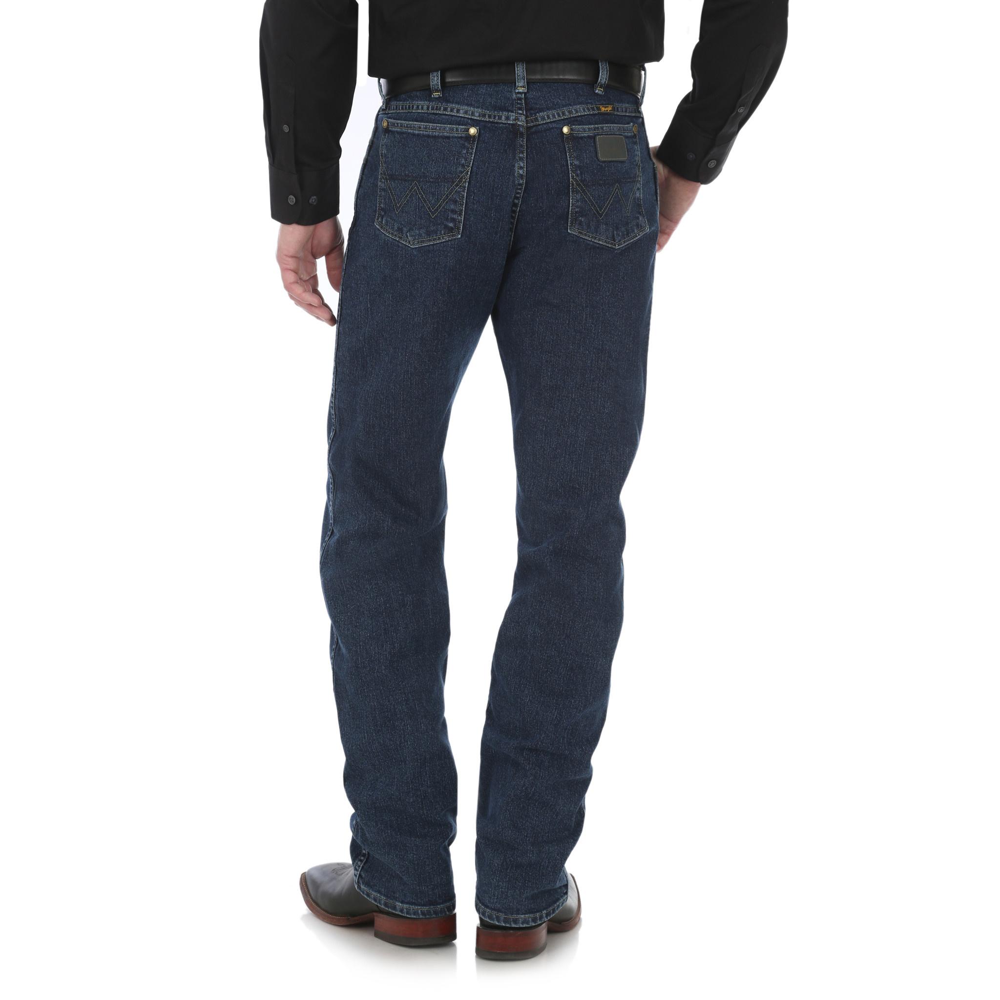 760106dda4d Men's Wrangler George Strait Cowboy Cut Jean 47MGSDA by Wrangler