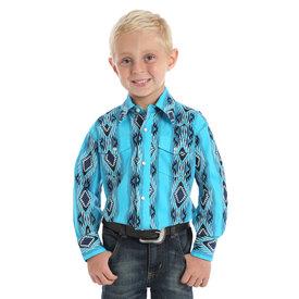 Wrangler Boy's Wrangler Checotah Snap Front Shirt BC1246Q
