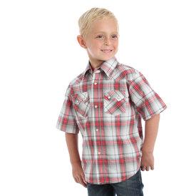 Wrangler Boy's Wrangler Snap Front Shirt BVR442M