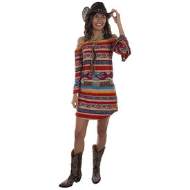 Scully Women's Serape off the Shoulder Peasant Dress