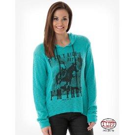 Cowgirl Tuff Women's Cowgirl Tuff Sweater C02-H00509-TUR