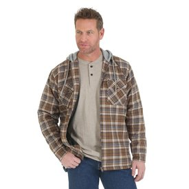 Wrangler Men's Wrangler Flannel Jacket 3W802CT