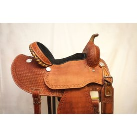 Chino Tack Chino Tooled Barrel Racing Saddle