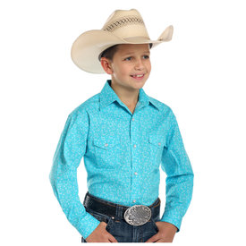 Panhandle Boy's Rough Stock Snap Front Shirt R2S1510