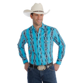 Wrangler Men's Wrangler Checotah Snap Front Shirt MC1246Q