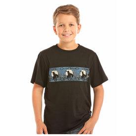 Rock & Roll Cowboy Boy's Rock & Roll Cowboy T-Shirt P3T1193