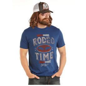 ROCK&ROLL DENIM Men's Rock & Roll Cowboy Dale Brisby T-Shirt P9-1096