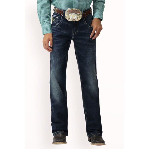 Cinch Boy's Cinch Relaxed Fit Performance Denim Jean MB16682002