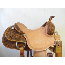 Reinsman Reinsman Cowhorse Saddle 1/2 Tooled