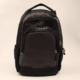 Ariat Grey and Black Backpack