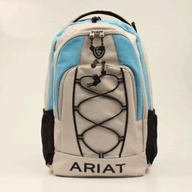 Ariat Stone and Sky Blue Backpack