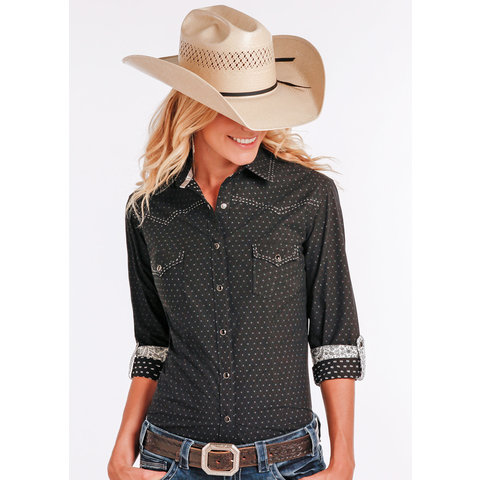 Women's Rough Stock Snap Front Shirt R4S2215