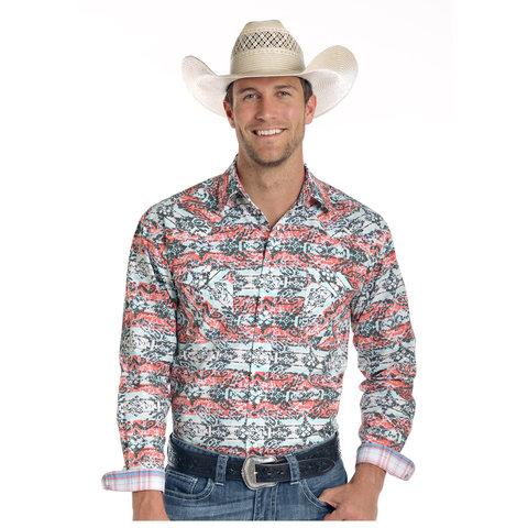 Men's Rough Stock Snap Front Shirt R0S1540