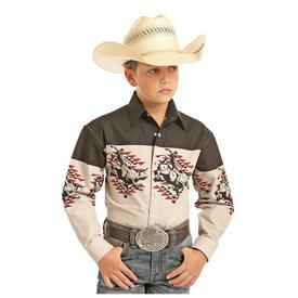 Panhandle Boy's Panhandle Snap Front Shirt C0S1121
