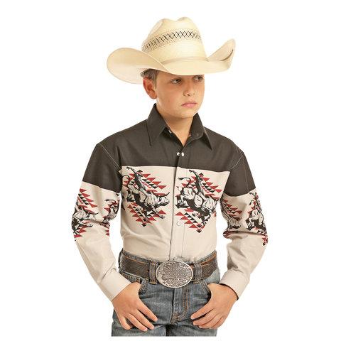 Boy's Panhandle Snap Front Shirt C0S1121