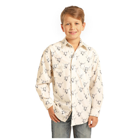 Boy's Rock & Roll Cowboy Print B8S1140