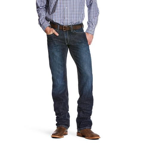 Men's Ariat M5 Slim Straight Leg Jean 10026035 C4