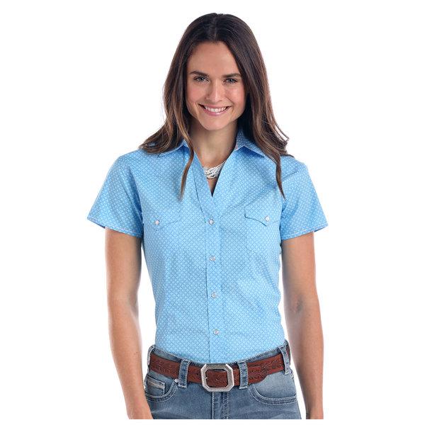 Panhandle Women's Rough Stock Snap Front Shirt R5S1533