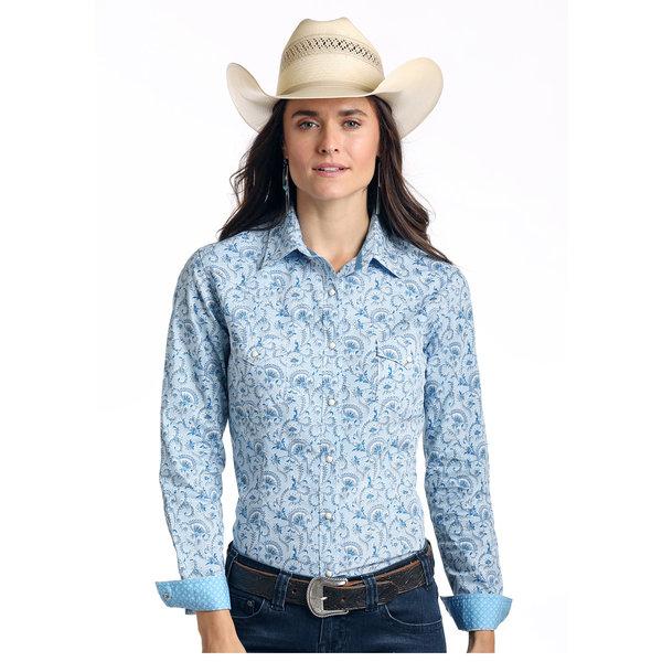 Panhandle Women's Rough Stock Snap Front Shirt R4S1534