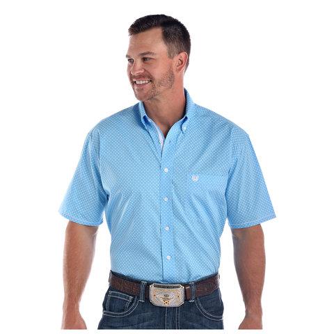 Men's Rough Stock Button Down Shirt R1D1533