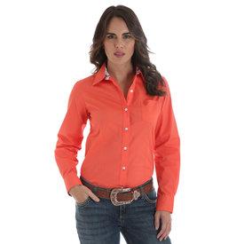 Wrangler Women's Wrangler George Strait Button Down Shirt LGS7619
