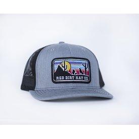 Red Dirt Hat Co Men's Grey Coyote Cap