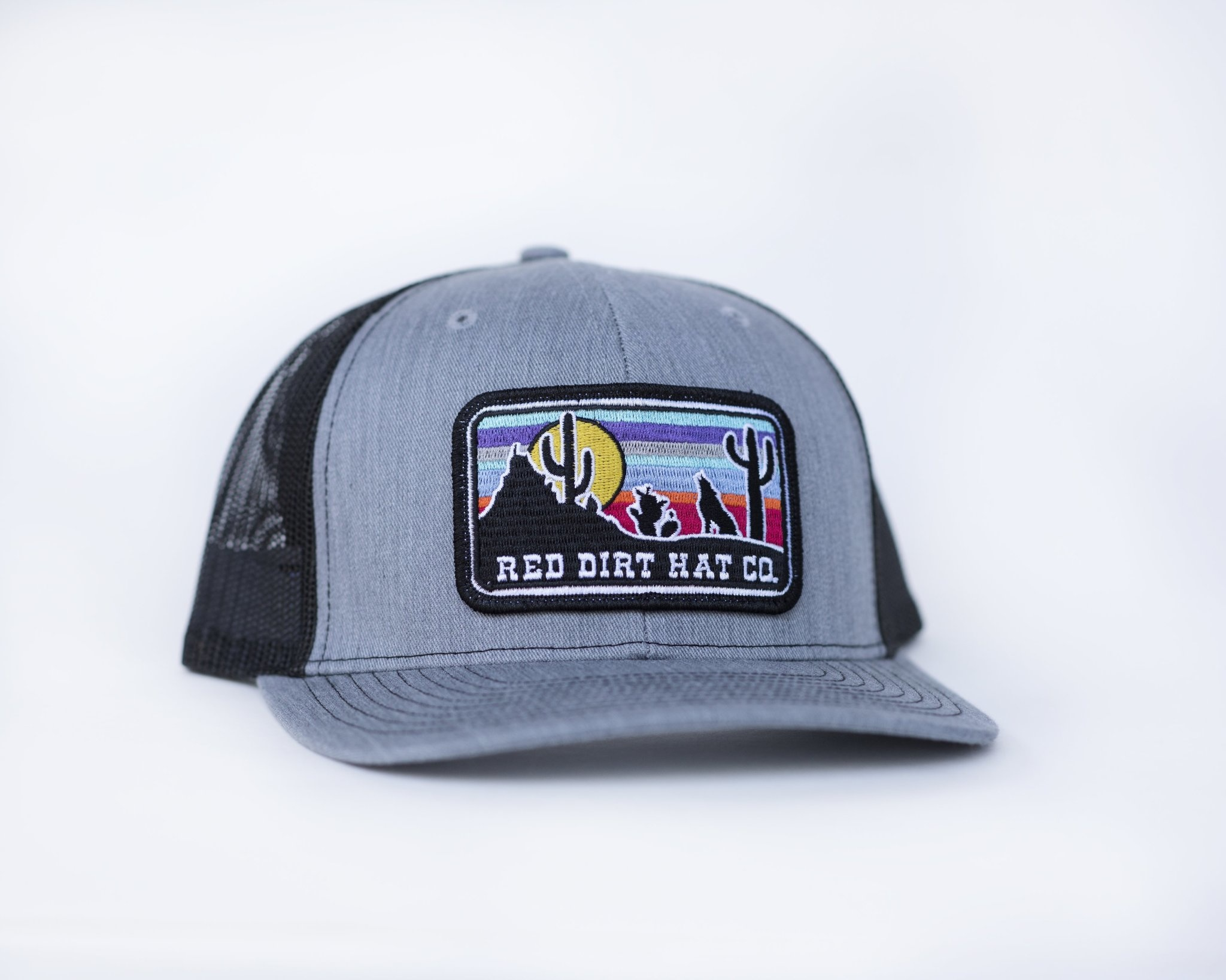 RED DIRT HAT COYOTE HTHR GRY/BLK RDHC82