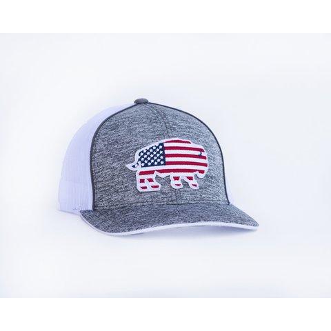 Men's Red Dirt Hat Co. USA Buffalo Cap RDHC1