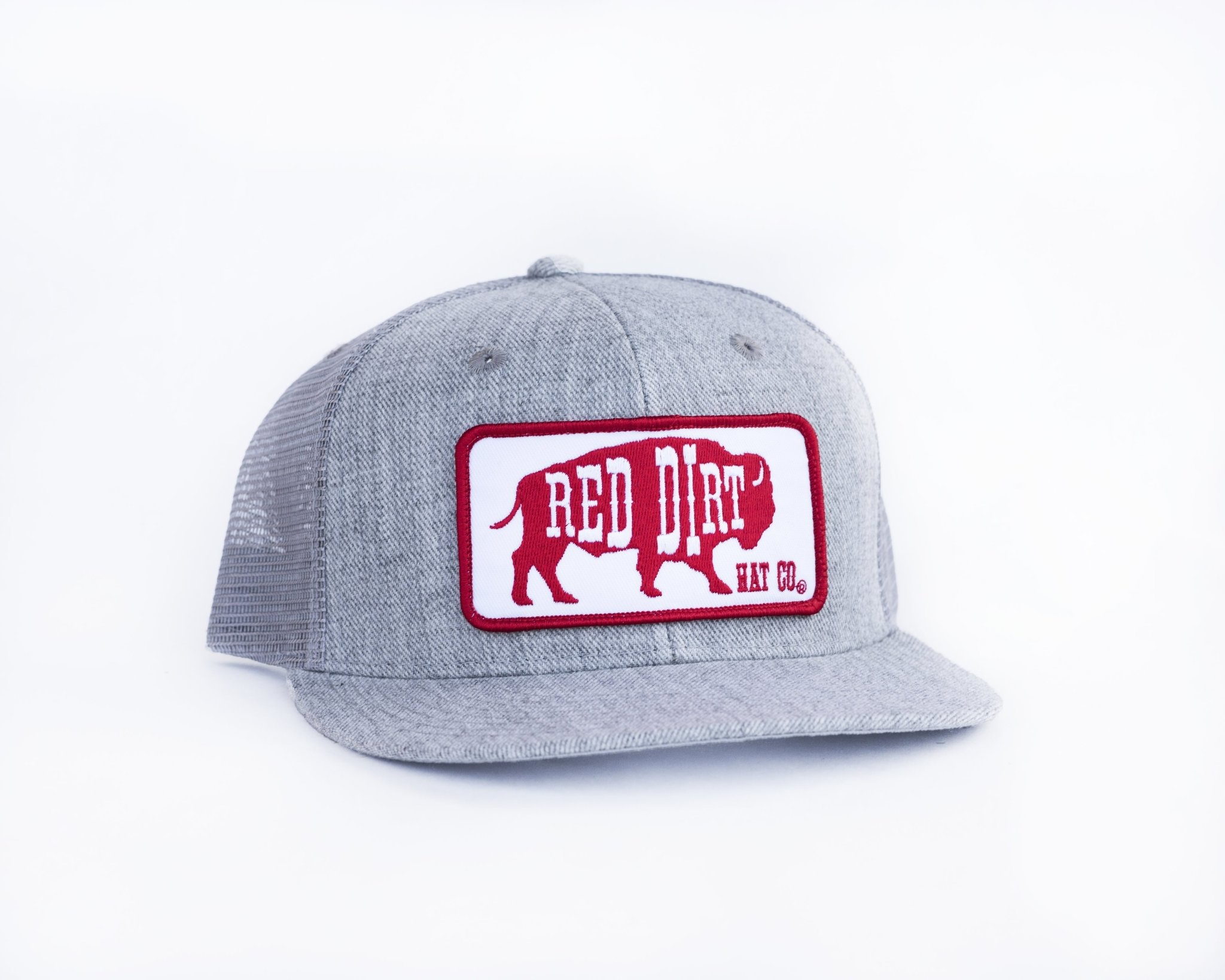 RED DIRT HAT RED ORIGINAL HTHR GRY RDHC58