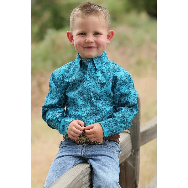 Cinch Infant Boy's Cinch Button Down Shirt MTW7062208