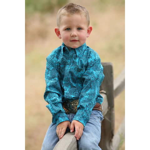 Toddler Boy's Cinch Button Down Shirt MTW7061208