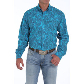 Cinch Men's Cinch Button Down Collar MTW1104841