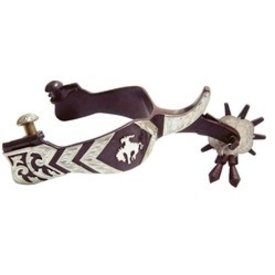 American Heritage Equine Men's Bucking Bronco Spurs
