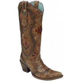 Corral Women's Cognac Tall Western Boot C3