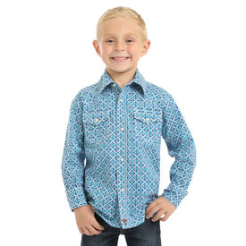 Wrangler Boy's Wrangler 20X Advanced Comfort Snap Front Shirt BJC212M