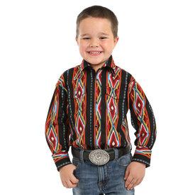 Wrangler Boy's Wrangler Checotah Snap Front Shirt BC1251M