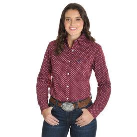 Wrangler Women's Wrangler George Strait For Her Button Down Shirt LGSR681