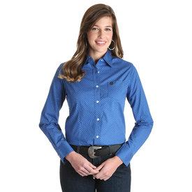 Wrangler Women's Wrangler George Strait For Her Button Down Shirt LGSB664