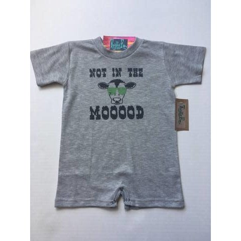 Infant's Boy's Twisted Filly Romper