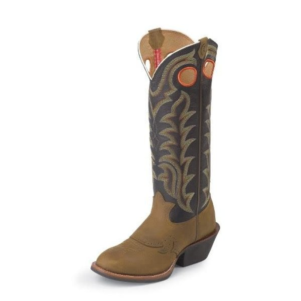 Tony Lama Men's Tony Lama Quanah Buckaroo Boot RR1002 C3 7.5 D