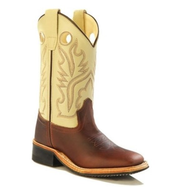 Old West Children's Old West Western Boot BSC1855 C3 Size 3