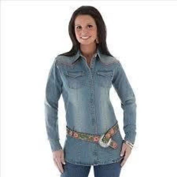 Wrangler Women's Wrangler Snap Front Shirt LW7091D C5 X-Small
