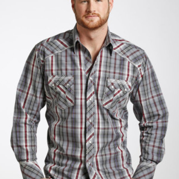 Panhandle Men's 90 Proof Snap Front Shirt V6S4833 C3 2XL