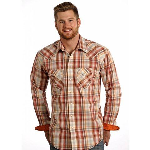 Men's Rough Stock Snap Front Shirt R0F4187 C3 2XL