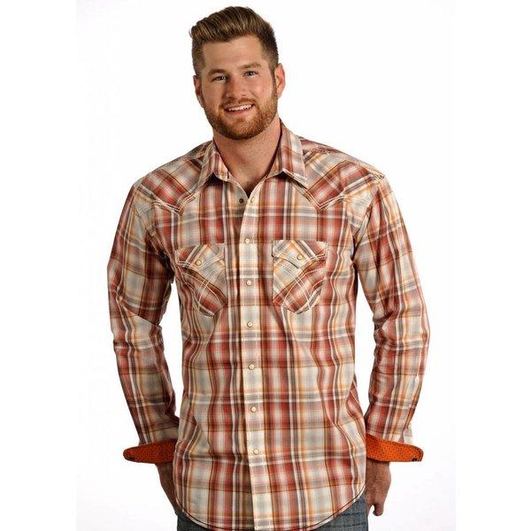 Panhandle Men's Rough Stock Snap Front Shirt R0F4187 C3 2XL